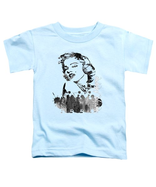 Marilyn Monroe Collection Toddler T-Shirt by Marvin Blaine