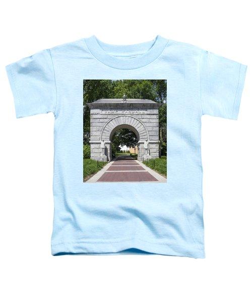 Camp Randall Memorial Arch - Madison Toddler T-Shirt