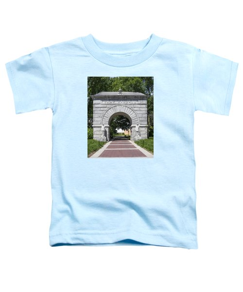 Camp Randall Memorial Arch - Madison Toddler T-Shirt