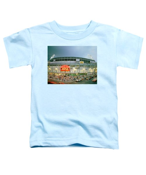 High Angle View Of Tourists Toddler T-Shirt