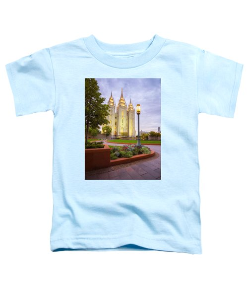 Salt Lake Temple Toddler T-Shirt