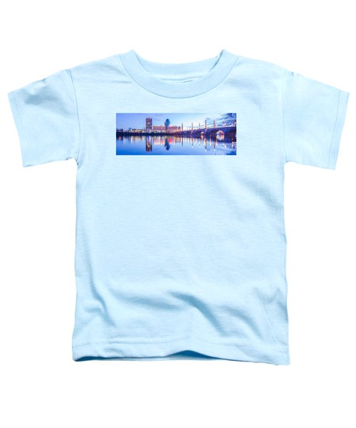 Springfield Massachusetts City Skyline Early Morning Toddler T-Shirt