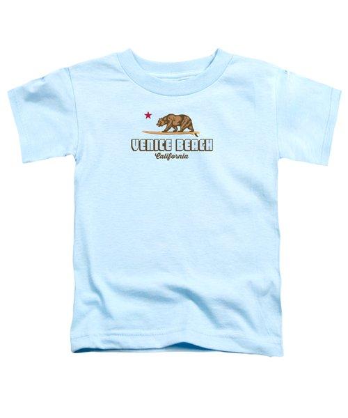 Venice Beach La. Toddler T-Shirt by Lerak Group LLC
