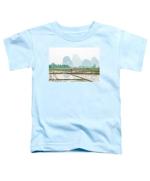 Karst Rural Scenery In Spring Toddler T-Shirt
