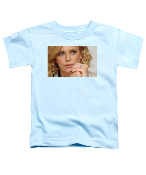 Charlize Theron Toddler T-Shirt