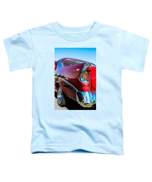 56 Chevy Bel Air Toddler T-Shirt