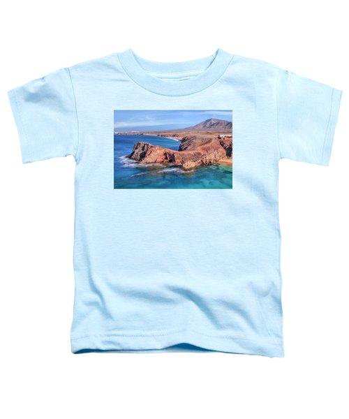 Playa Papagayo - Lanzarote Toddler T-Shirt by Joana Kruse