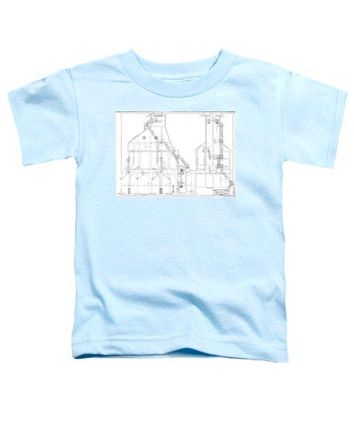 600 Ton Coaling Tower Plans Toddler T-Shirt