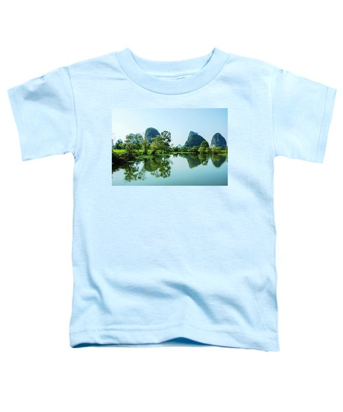 Karst Rural Scenery Toddler T-Shirt
