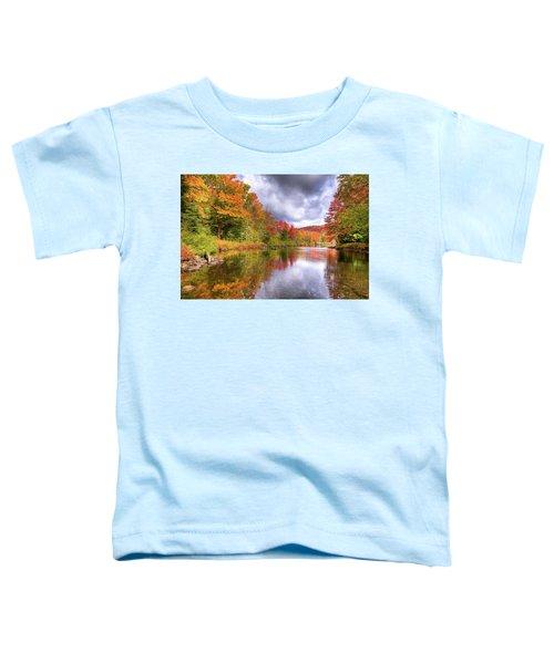 A Cloudy Autumn Day Toddler T-Shirt