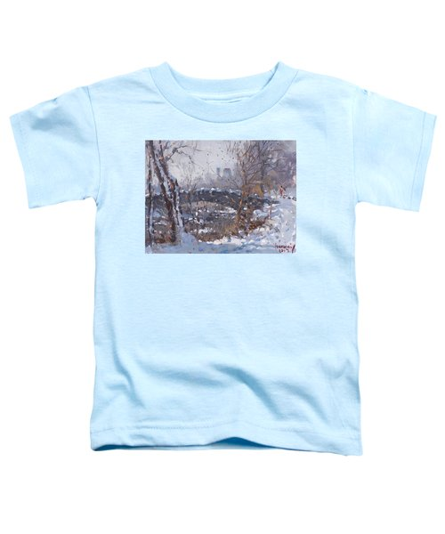 A Cold Sunny Day At Three Sisters Islands Toddler T-Shirt