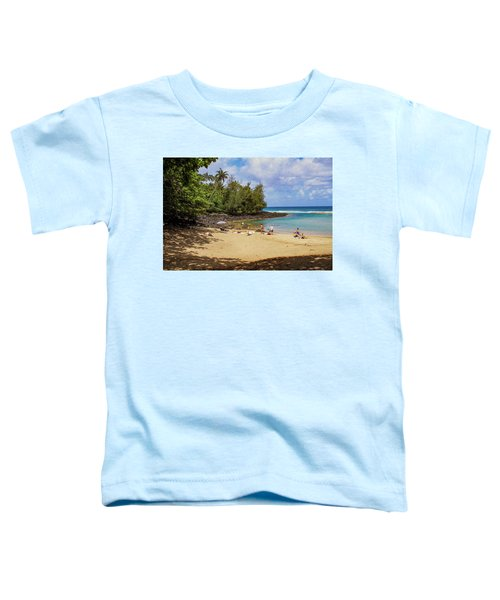 A Day At Ke'e Beach Toddler T-Shirt