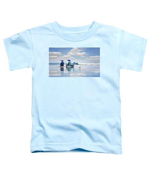 A Day At The Beach Toddler T-Shirt