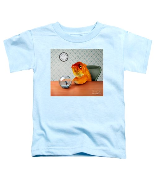 A Fish Out Of Water Toddler T-Shirt by Carrie Jackson