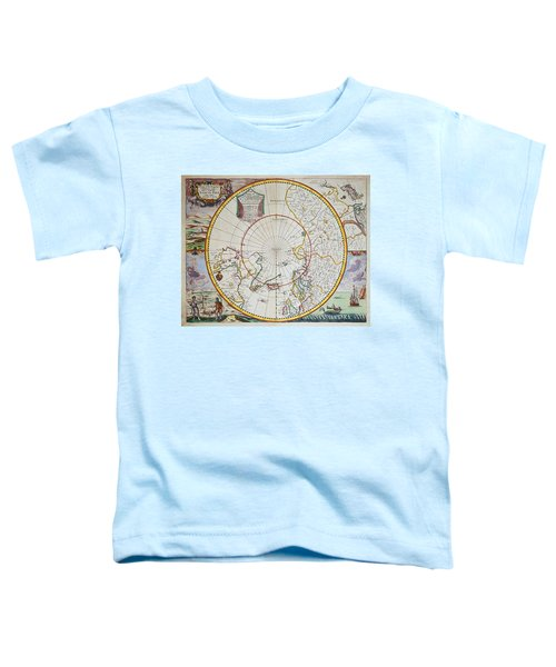 A Map Of The North Pole Toddler T-Shirt