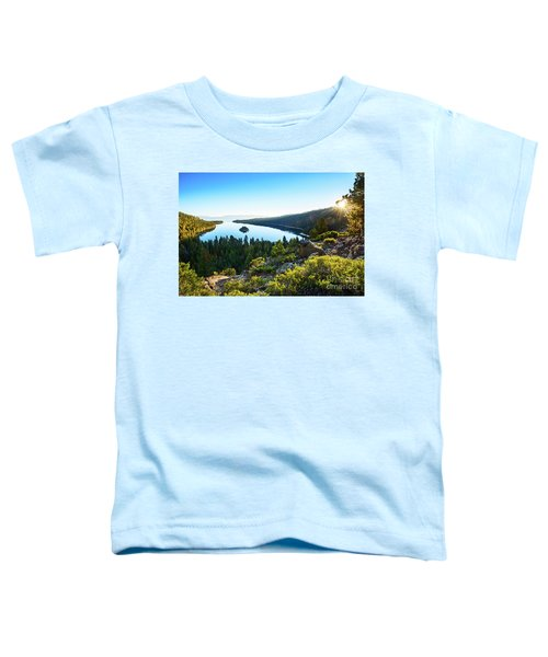 A New Day Over Emerald Bay Toddler T-Shirt