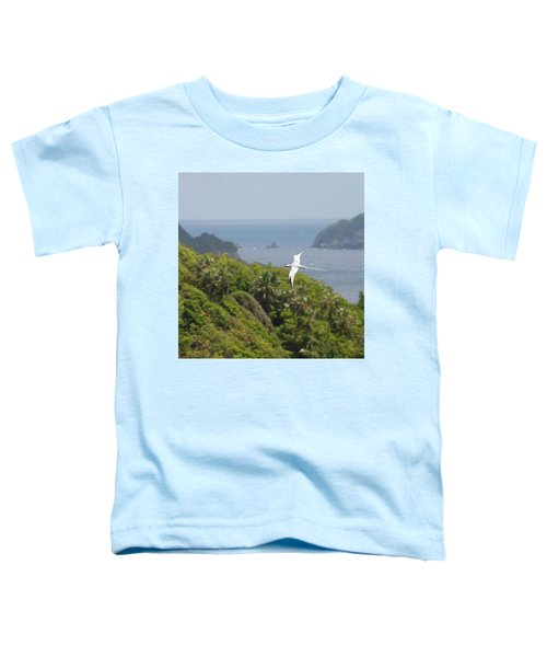 A Red-billed Tropicbird (phaethon Toddler T-Shirt