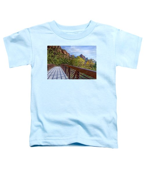 A Scenic Hike Toddler T-Shirt