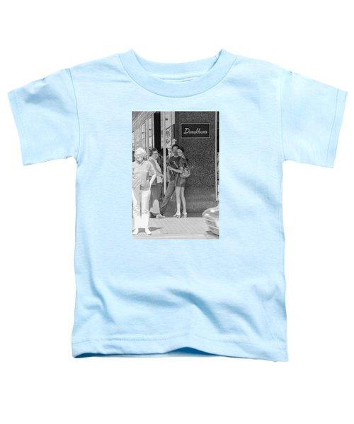 A Sidewalk Conference Toddler T-Shirt