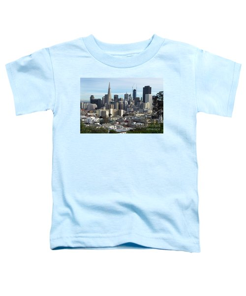 A View Of Downtown From Nob Hill Toddler T-Shirt