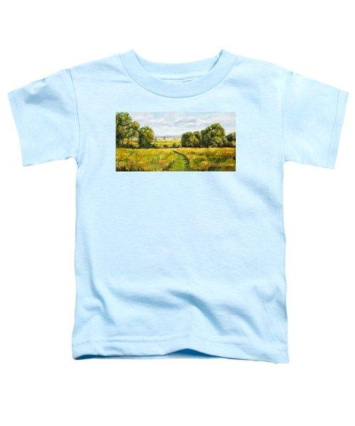 A Walk Thru The Fields Toddler T-Shirt
