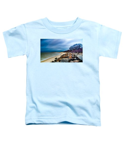A Winter's Beach Toddler T-Shirt