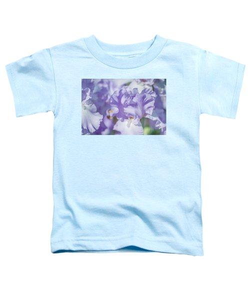 Absolute Treasure Closeup. The Beauty Of Irises Toddler T-Shirt