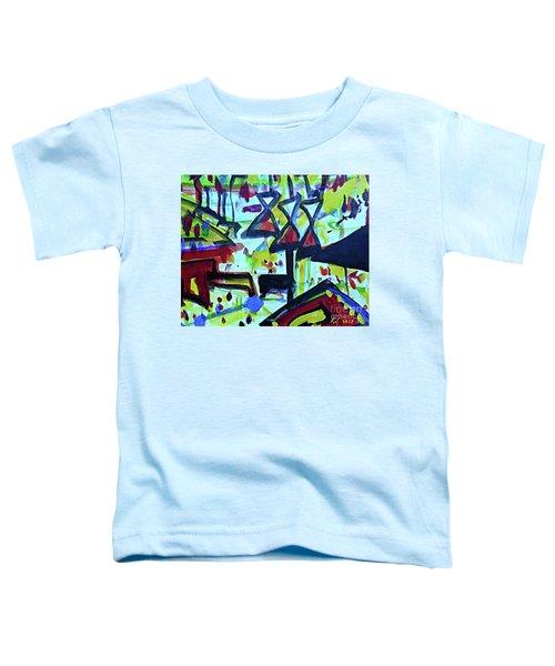 Abstract-27 Toddler T-Shirt