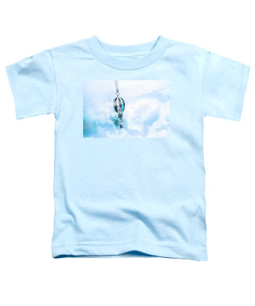 Abstract Air Baloon Hanging On Chain Toddler T-Shirt