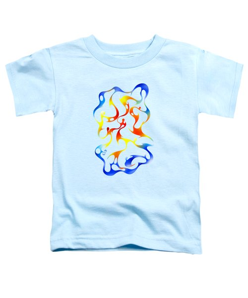 Geoceonom V3 - Abstract Artwork Toddler T-Shirt