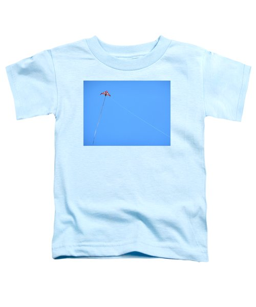 Abstract Kite Flying Toddler T-Shirt