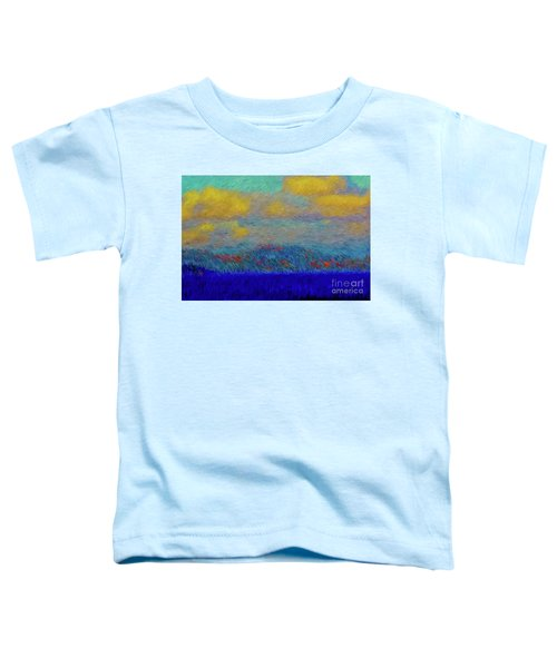 Abstract Landscape Expressions Toddler T-Shirt