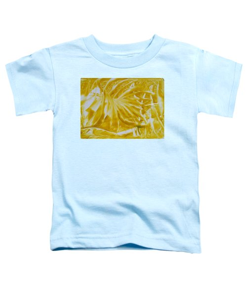 Abstract Yellow  Toddler T-Shirt