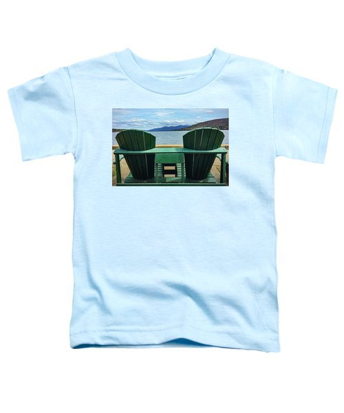 Adirondack Chair For Two Toddler T-Shirt
