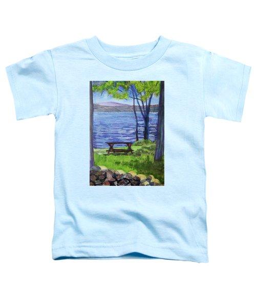 Adirondack Picnic Spot Toddler T-Shirt