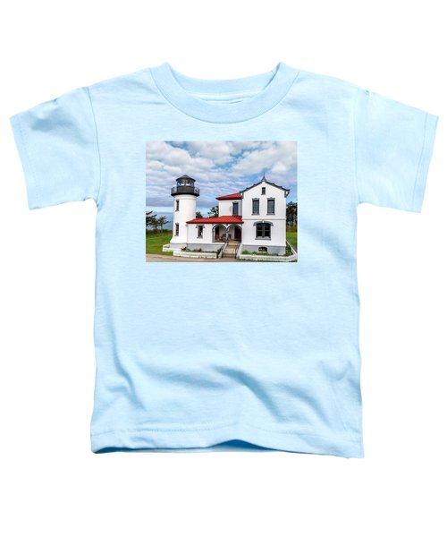 Admiralty Head Lighthouse Toddler T-Shirt