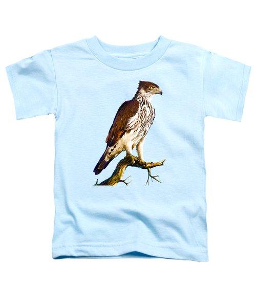 African Hawk Eagle Toddler T-Shirt