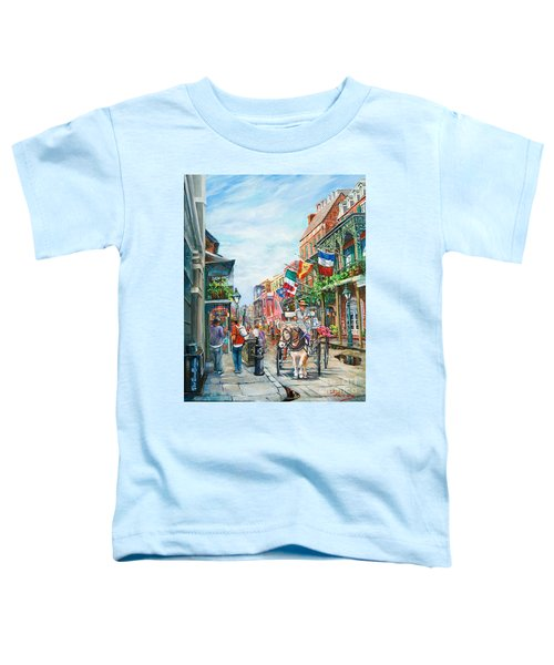 Afternoon On St. Ann Toddler T-Shirt