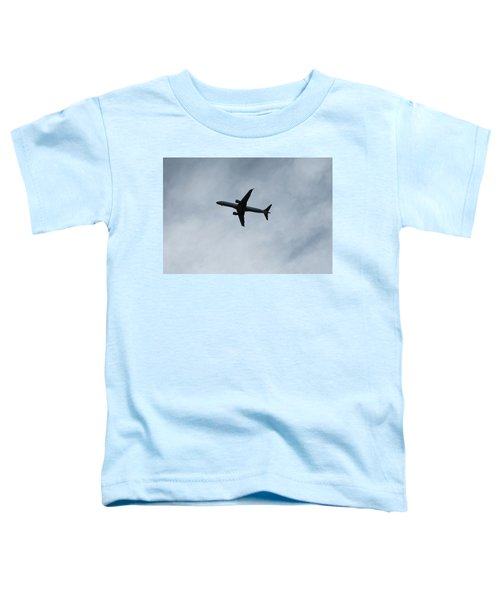 Airplane Silhouette Toddler T-Shirt