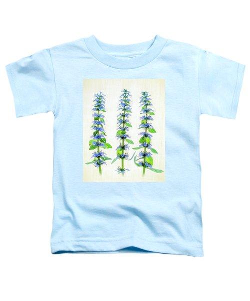 Ajuga Blooms Toddler T-Shirt