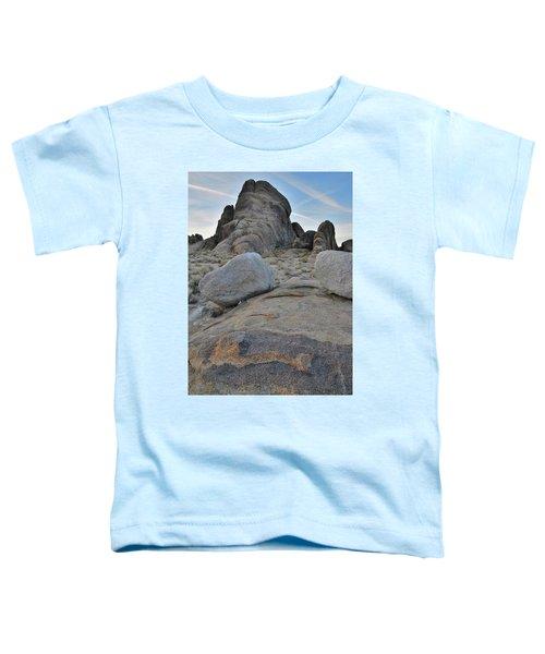 Alabama Hills Boulders At Dusk Toddler T-Shirt
