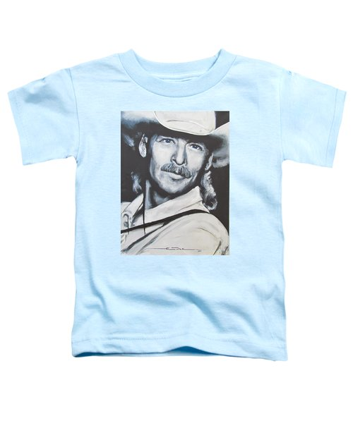 Alan Jackson - In The Real World Toddler T-Shirt