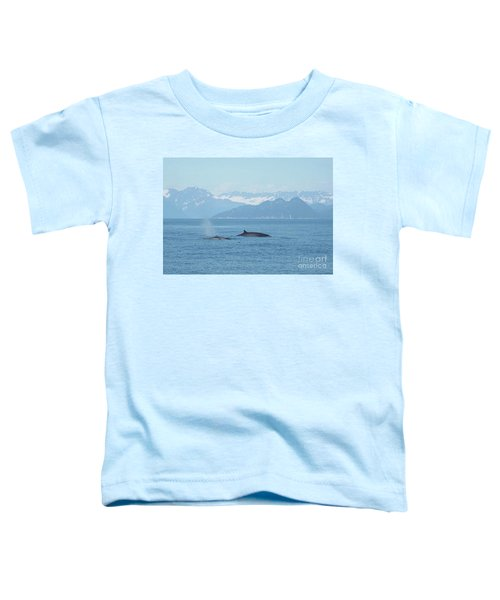 Alaska Finback Whales Toddler T-Shirt