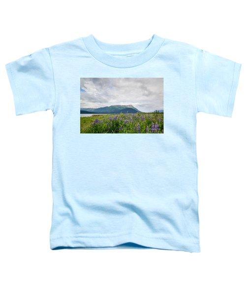Alaskan Wildflowers Toddler T-Shirt