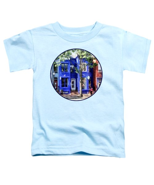 Alexandria Va - Colorful Street Toddler T-Shirt