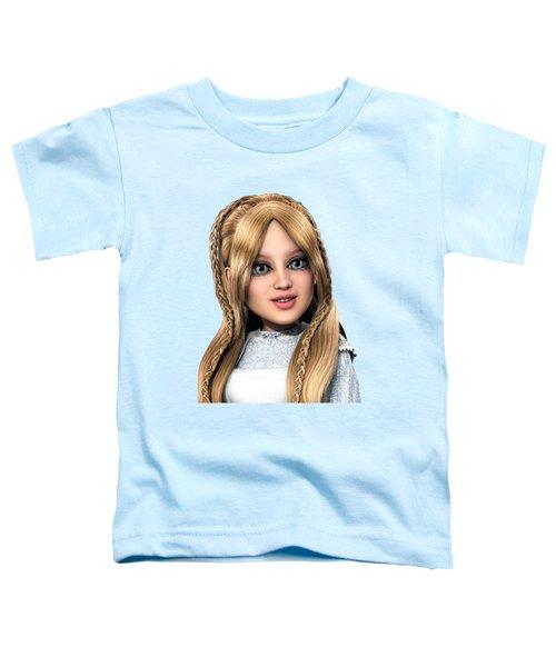 Alice Portrait Toddler T-Shirt