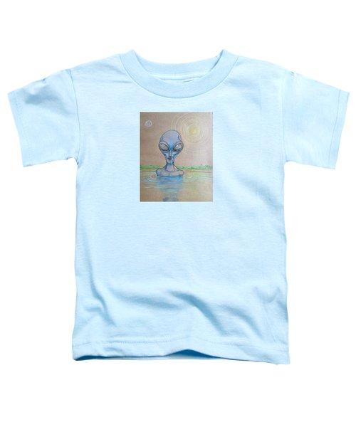 Alien Submerged Toddler T-Shirt