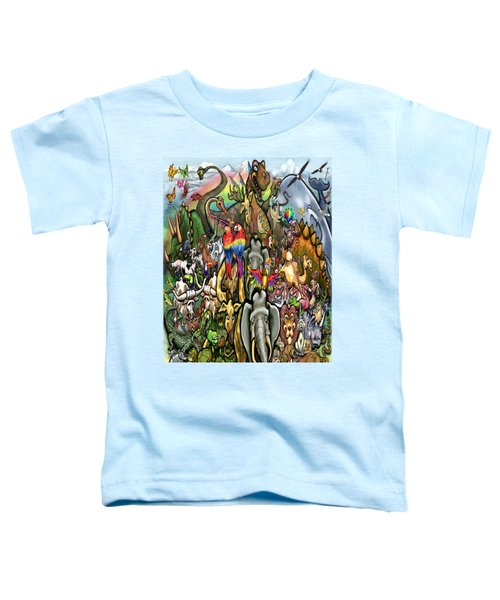 All Creatures Great Small Toddler T-Shirt by Kevin Middleton