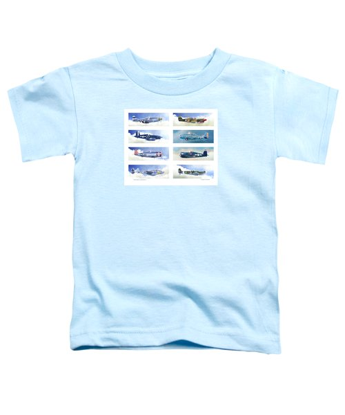 Allied Fighters Of The Second World War Toddler T-Shirt