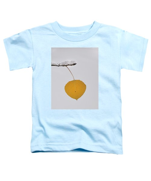 Alone In The Snow Toddler T-Shirt